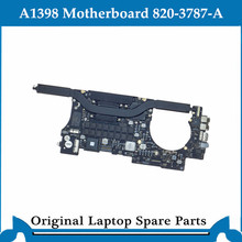 Original logic board for Macbook Pro Retina A1398 Motherboard 820-3787-A Main Board 2.8Ghz 16G 2G 2013-2014 tested