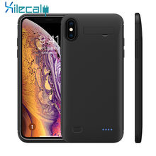 Battery Charger Case For iPhone XS MAX XR XS X Battery Case Power Bank Charging Cover For iPhone 8 7 Plus 6 6S Plus Charger(China)