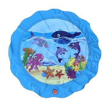 Summer Play Inflatable Spray Water Cushion Kids Water Mat Lawn Games Pad Sprinkler Toys Outdoor Tub Swiming Pool бассейн для детей inflatable pool 2015 96 65 28 swiming pool