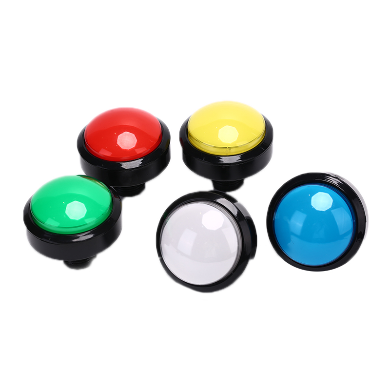 Arcade <font><b>Button</b></font> LED Lamp <font><b>60MM</b></font> Round Arcade Game Player Push <font><b>Button</b></font> Switch image