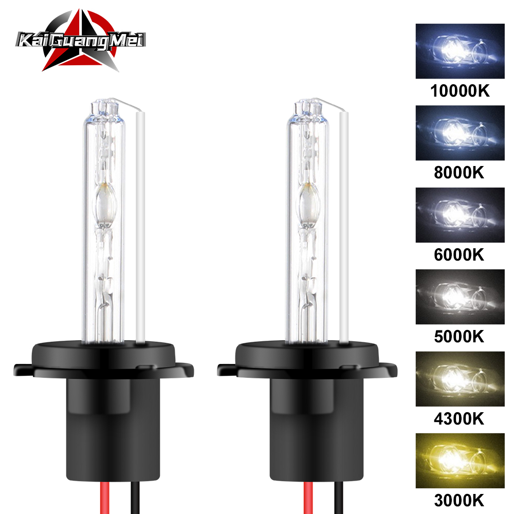 2pcs HID Xenon Bulbs 35W 55W 80W 3000K 4300K 5000K 6000K 8000K 10000K H1 H3 H7 H11 HB3 HB4 H4 9005 9012 9006 H13 Car Headlight