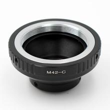 M42 C محول ل M42 المسمار عدسة إلى 16 مللي متر C جبل فيلم فيلم كاميرا