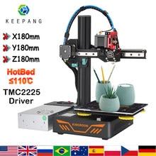KP3S Upgrade drukarka 3d aluminium wznowić drukarki wysokiej precyzji ekran dotykowy DIY zestaw do drukarki 3D impressora 3d 180x180x180mm