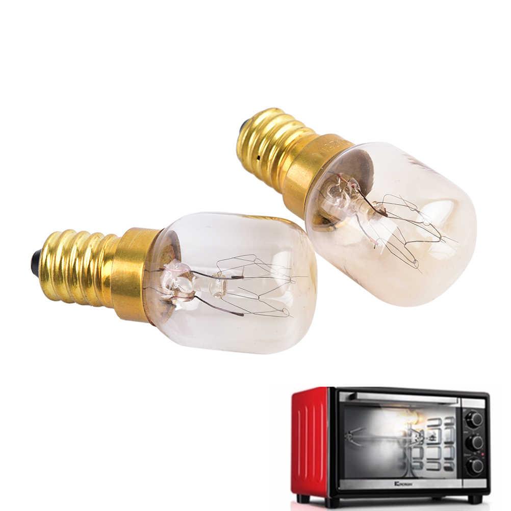 E14 220 V-240 V 15 W/25 W Nhiệt Độ Cao 300 Độ C Lò Nướng Bánh Mì/Hơi Nước bóng Đèn Máy Hút Mùi Bếp Đèn Vi Sóng Bóng Đèn