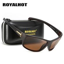 RoyalHot Men Women Polarized Retro Sports Sunglasses Vintage Sun Glasses Retro E
