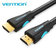 Кабель HDMI Vention с позолоченным штекером, 4K, HDMI на HDMI 2,0, 5 м, 10 м
