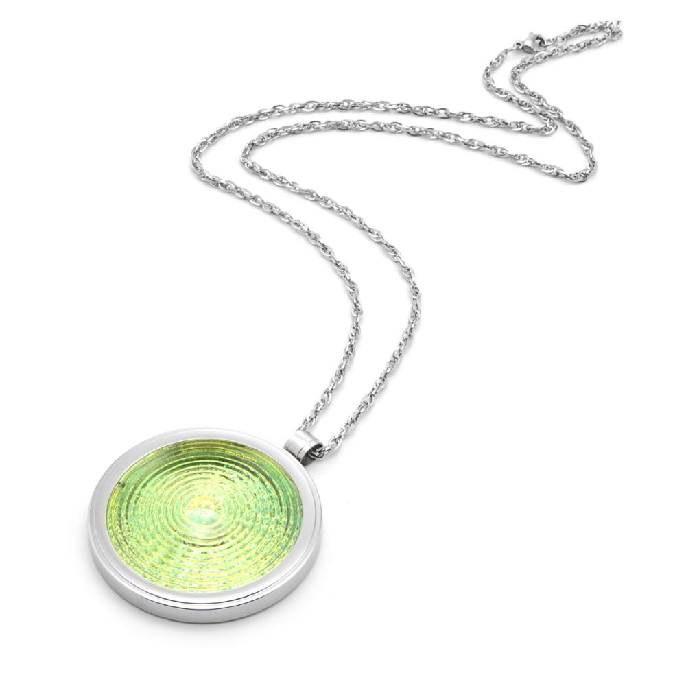 Energy Waves Mini Alpha Spin Pendant With Neg Ions