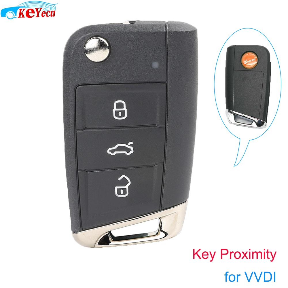 Xhorse Universal Smart Proximity 3B Smart MQB Type Key for VVDI Key Tool VVDI2 PN: XSMQB1EN