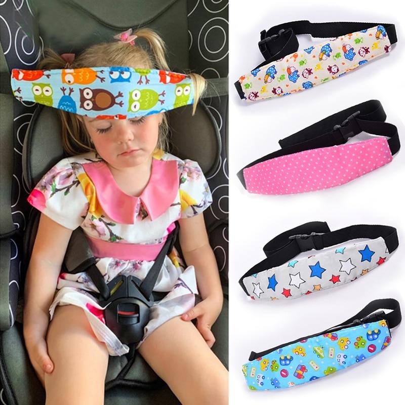 Infant Baby Car Seat Head Support Children Belt Fastening Belt Adjustable Boy Girl Playpens Sleep Positioner Baby Saftey Pillows|Pillow| - AliExpress