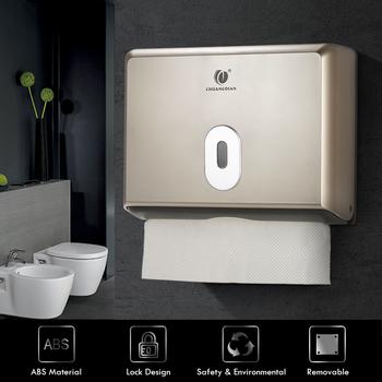 Pudełko na chusteczki łazienka podajnik ręczników papierowych serwetnik kuchenny do kuchni podajnik ręczników papierowych naścienny tanie i dobre opinie Tissue Box Wiszące typu Napkin Holder For Kitchen Toilet Paper Towel Dispenser Przypadku tkanki Rolka papieru