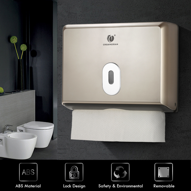 Tissue Box Holder Bathroom Tissue Dispenser Kitchen Napkin Holder For Kitchen Toilet Paper Towel Dispenser Wall Mounted