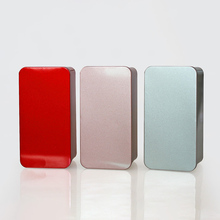 Rectangle Metal Storage Box Iron Tin Boxex Jars Food Container Small Things Stor