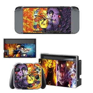 Naruto Skin Sticker Decal For Nintendo Switch Console and Controller For NS Protector Cover Joy-con Switch Skin Sticker(China)