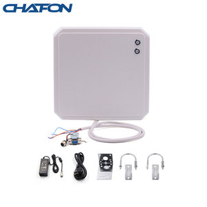 Image 1 - CHAFON 10m uhf long range rs485 rfid card reader writer provide free sdk and sample tags used for parking system