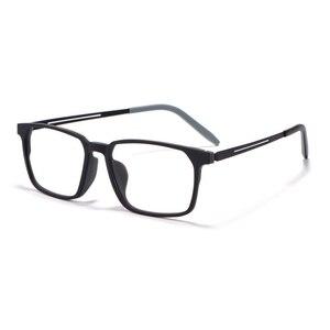 Image 4 - Okulary optyczne rama dla mężczyzn i kobiet 8878 Titanium elastyczne nogi z TR 90 plastikowe oprawki okularowe z przodu obręczy