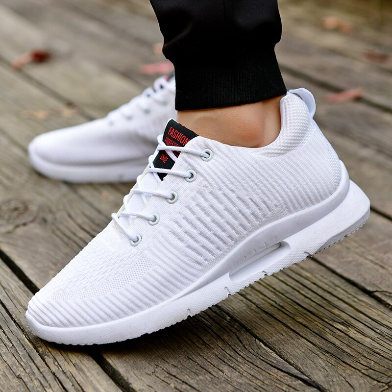 Sneakers Men Basket Athletic-Trainers Sports-Shoes Outdoor Footwear Walking Breathable title=