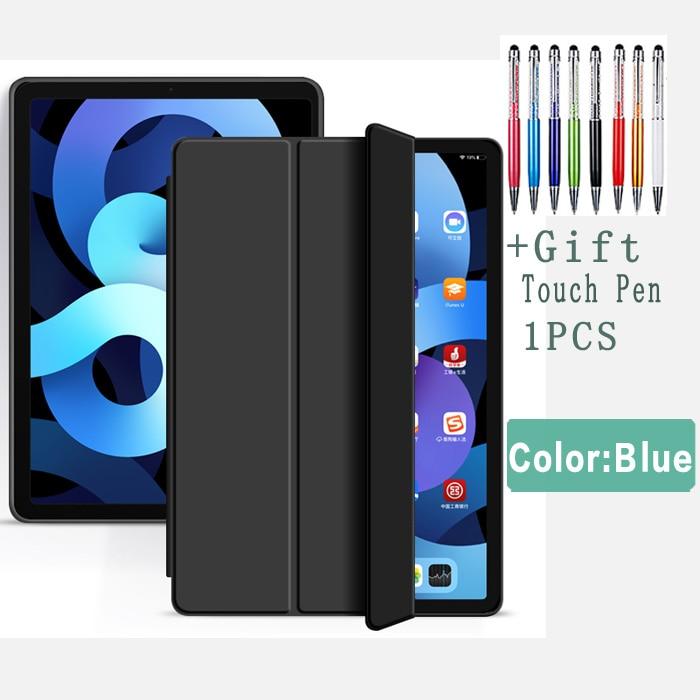 Black-Air 4 Purple Flip Case For iPad Air 4 10 9 2020 Silicone Cover For iPad Air 4th generation
