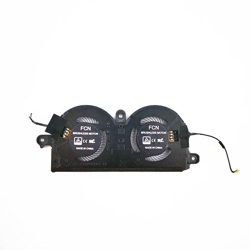 MAD DRAGON Brand NEW laptop CPU Fan/Graphics Cooling Heatsink Fan Assembly For Dell XPS13 XPS 13 9370 Heatsink Fan 0980WH 980WH