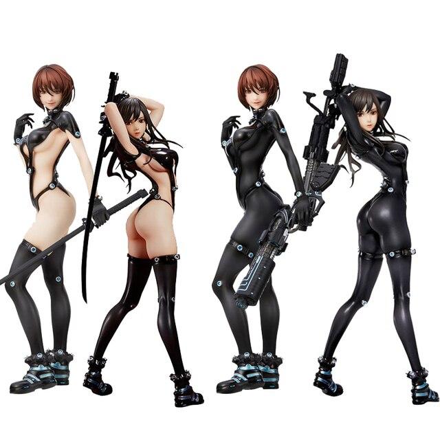 GANTZ:O Shimohira reika Yamasaki Anzu Hdge NO.15 섹시한 여자 액션 피규어 일본 애니메이션 성인 액션 피규어 toys Anime Figure