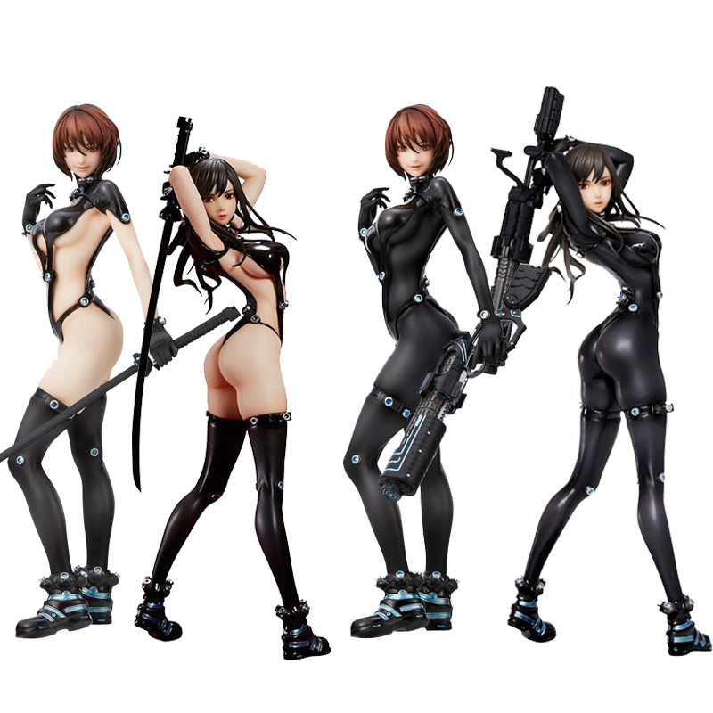 GANTZ:O Shimohira reika Yamasaki Anzu Hdge NO.<font><b>15</b></font> <font><b>Sexy</b></font> <font><b>girls</b></font> Action Figure japanese Anime adult Action Figures toys Anime figure image