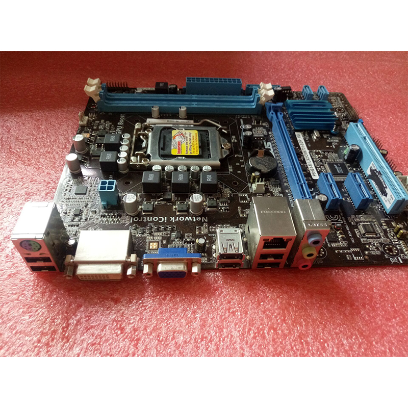 For ASUS P8H61-M LX2 Desktop motherboard MB Intel H61 LGA 1155 micro ATX DDR3 16GB SATA3.0 USB2.0 100% fully Tested 8