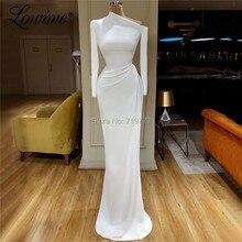 Vestidos De Festa uzun kollu Abiye 2020 Kafans arapça Abiye giyim Abiye Dubai parti elbise resmi elbise balo