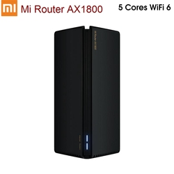 2020 شاومي راوتر AX1800 واي فاي 6 جيجابت 2.4G 5GHz كوالكوم 5 كور ثنائي النطاق راوتر OFDMA مكاسب عالية 2 هوائيات أوسع مي راوتر