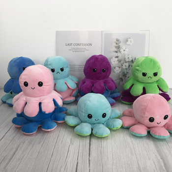 Kawaii Octopus Pillow Stuffed Toy Dolls Soft Simulation Octopus plush doll Cute for Children Gifts Marine Life Doll Plush Toy premium new 1pc cute marine life octopus baby plush toy doll octopus multicolor optional dolls