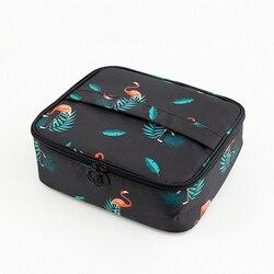 Брендовый органайзер для путешествий, модная женская косметичка, косметичка, сумки для хранения, Большая вместительная женская косметичка ...