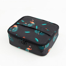Brand organizer travel fashion lady cosmetics cosmetic bag beautician storage bags large capacity Women makeup bag H127(China)
