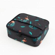 Brand organizer travel fashion lady cosmetics cosmetic bag beautician storage