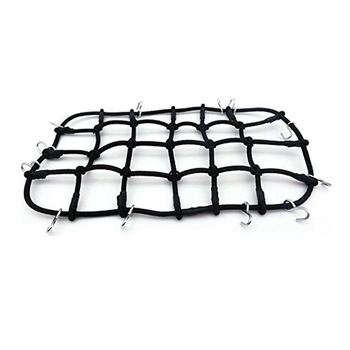 1/10 Accessory Luggage Roof Rack Net for 1/10 RC Crawler AXIAL SCX10 D90 D110 Traxxas TRX-4 Trx4 Rc Car Accessories and Parts jazrider steel luggage tray roof rack with light for 1 10 rc car truck tamiya axial