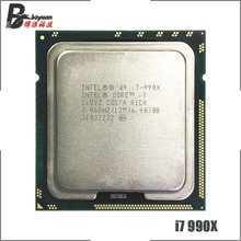 Intel Core i7 990X Extreme Edition i7 990x3.4 GHz Altı Çekirdekli Oniki Iplik CPU İşlemci 12M 130W LGA 1366