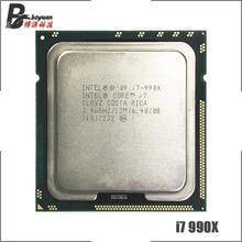 Intel Core i7 990X מהדורה קיצונית i7 990x3.4 GHz שש ליבות עשר חוט מעבד מעבד 12M 130W LGA 1366