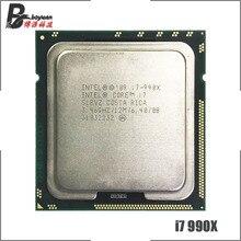 إنتل كور i7 990X المتطرفة الطبعة i7 990x3.4 GHz ستة النواة اثني عشر موضوع معالج وحدة المعالجة المركزية 12 متر 130 واط LGA 1366