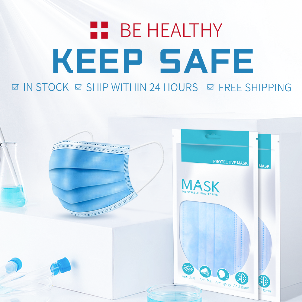 PM2.5 Mouth Mask Anti Dust Masks Filter Mascarillas Disposable Mask Care Face Mask