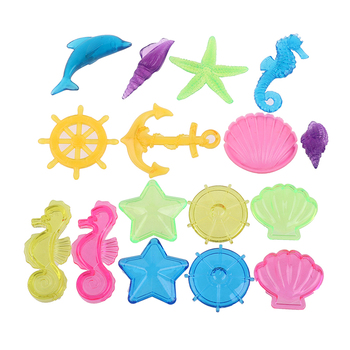 Children's Summer Play Underwater Entertainment Game Props Diving Gem Toy Set
