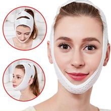 4D Double V Face Shape Tension Firming Mask Chin Cheek Lift Thin Face
