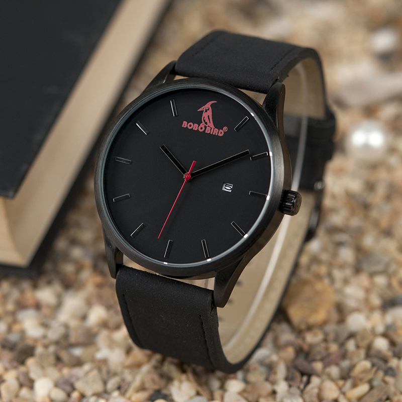 Relógio de pulso de quartzo masculino pulseira