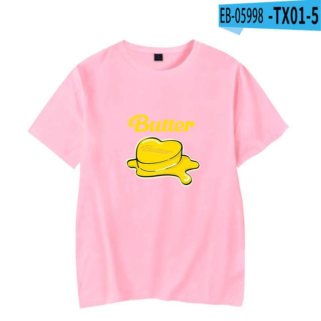 BTS BUTTER THEMED T-SHIRT (5 VARIAN)
