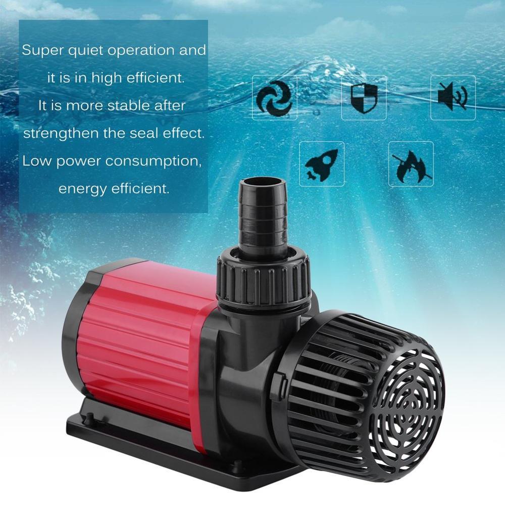 Krachtige Intelligente Borstelloze DC Variabele Flow Inverter Aquarium Pomp Voor Reef Fish Tank Vijver DC90H 6000 UK Plug - 6