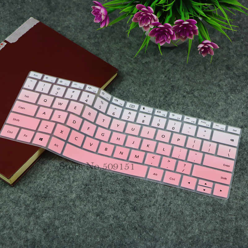 "13,9 zoll Silikon Notebook Tastatur Schutz Haut Abdeckung Für HUAWEI MateBook X Pro 13.9 ""2018 2019 laptop"