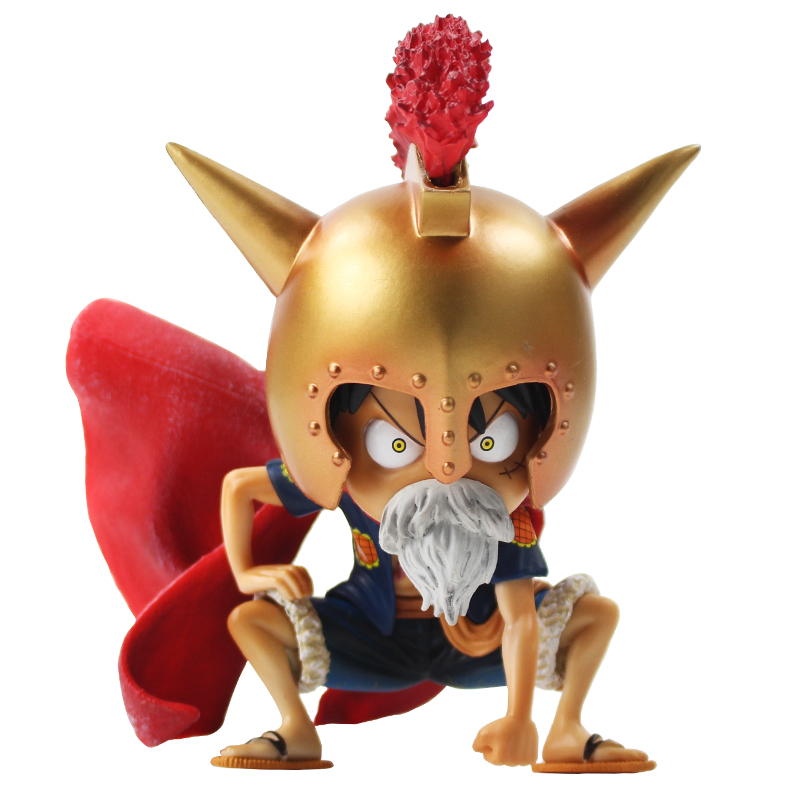 12cm One Piece Figure Anime Monkey D Luffy Gladiator Lucy PVC Action Figure Collectible Model Xmas gift Toy B19