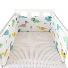 Хлопковые бамперы для детской кроватки 1 шт новорожденных хлопково