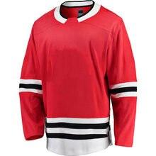 Angepasst Stich Herren Amerika Hockey Jersey Chicago Eis Sport Fans Trikots TOEWS DACH GRISWOLD SAAD Jersey