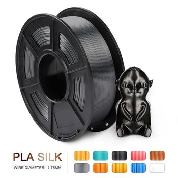 PLA SILK Filament 1.75MM SIlk PLA 3D Printer Filament 1kg/2.2 lbs Silk Texture Plastic PLA 3D Printing Materials Fast Sh