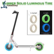 Scooter Tire Vacuum Solid Tyre 8 1/2X2 for Xiaomi Mijia M365 Electric Skateboard Avoid Non-Pneumatic Tyre Replacement Kits m365 scooter durable tire for xiaomi mijia m365 solid hole tires shock absorber non pneumatic tyre damping rubber tyres wheel