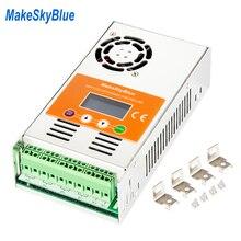 MakeSkyBlue MPPT الشمسية جهاز التحكم في الشحن 30A 40A 50A 60A قبالة الشبكة شاشة LCD Verison V118