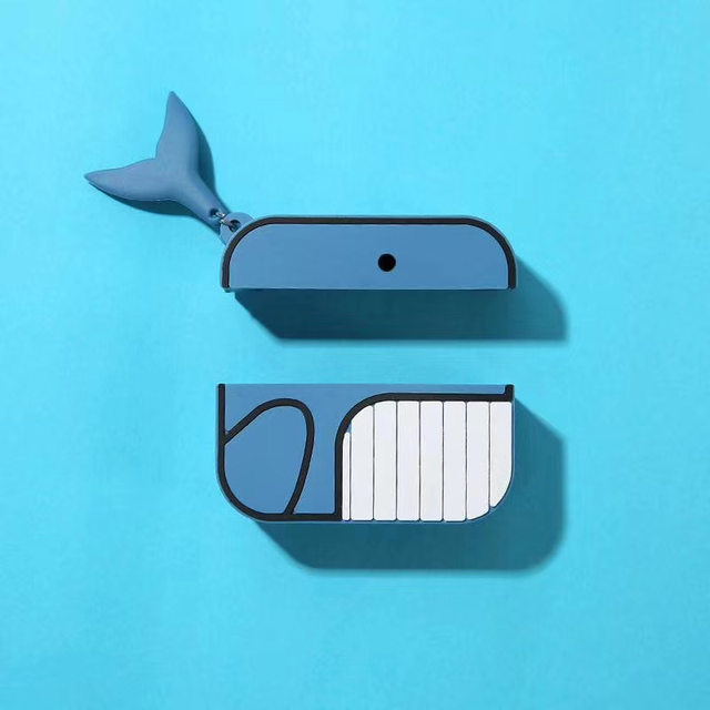 E7539-Cute Whale Case for Airpods Pro-2