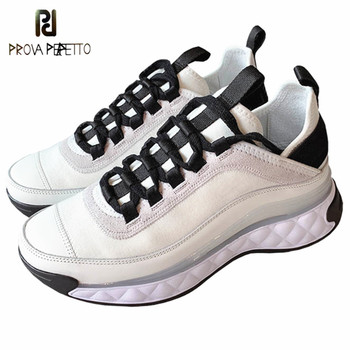 Brand Sneakers Women Fashion Flat Platform White Shoes Woman High Quality Thick Bottom Sneakers Female Casual Zapatos De Mujer
